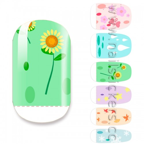 BUTTERFLY NAIL WRAPS FOR KIDS