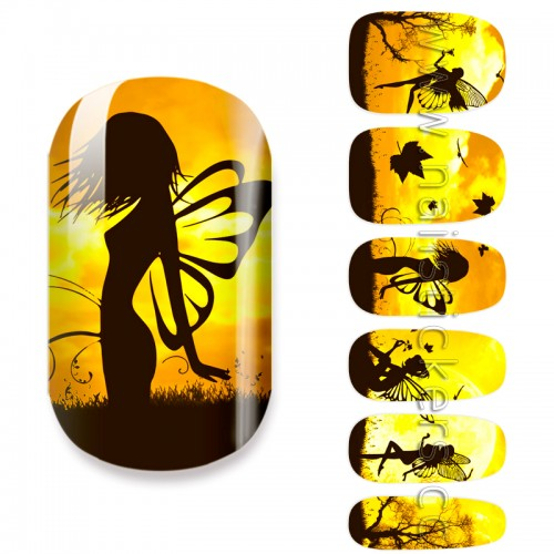 NAIL ART DESIGN PICTURES FAIRY MANI