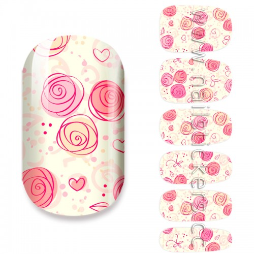NAIL ART DESIGNS PICTURES PINK FLOWERS