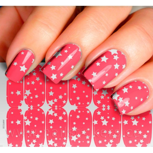 STARS NAIL ART FOR TEENS JAMBERRY NAIL WRAPS