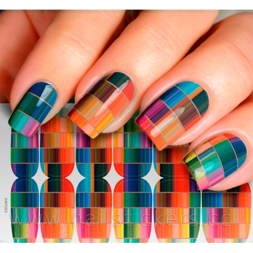 RICH COLOR NAIL WRAP CUSTOM DESIGN AVAILABLE
