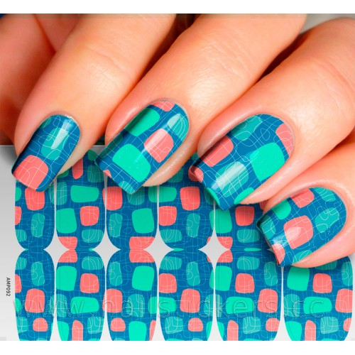 STICKER FOR NAIL ART MANI ROCK CANDIES